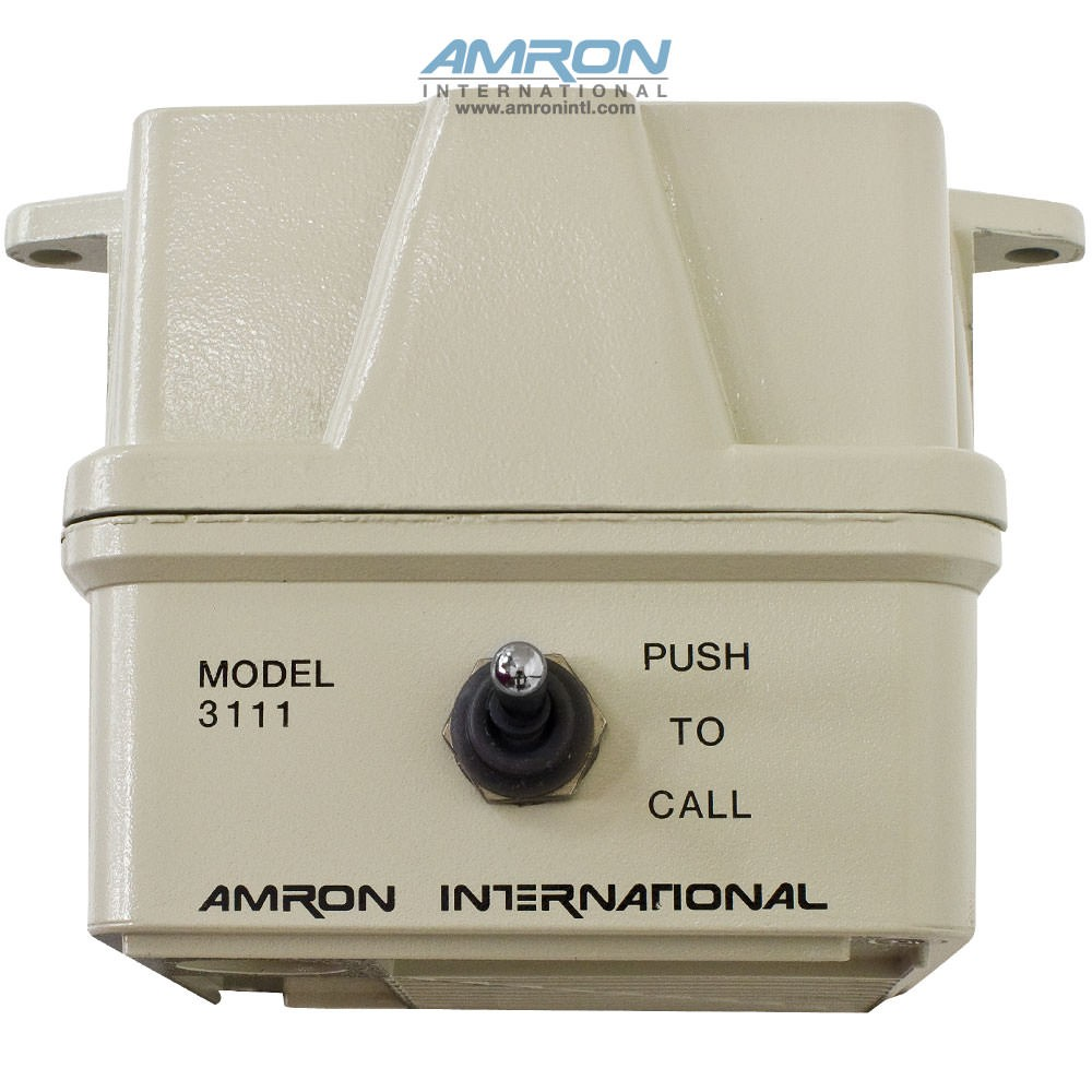 Amron Model 3111 Two-Way Speaker with Call Switch - Top