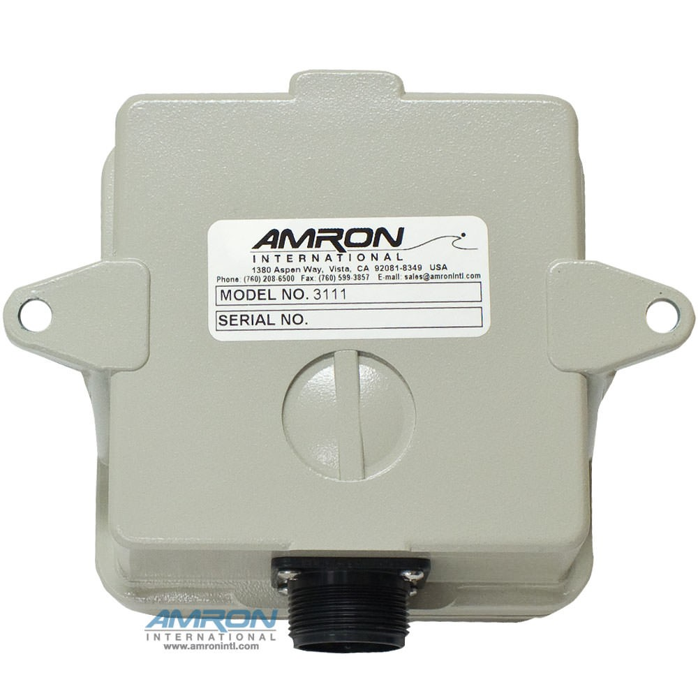 Amron Model 3111 Two-Way Speaker with Call Switch - Back