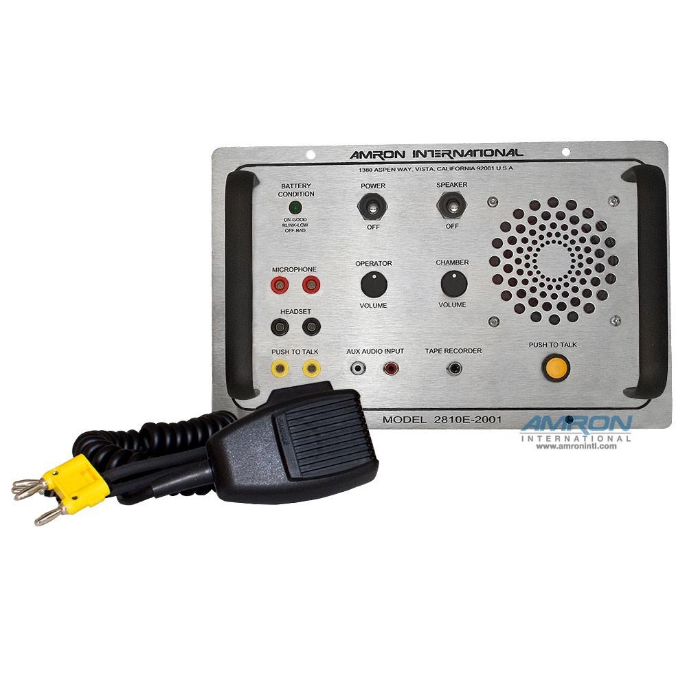 Single Lock Chamber Communicator 2810E-2001 Front