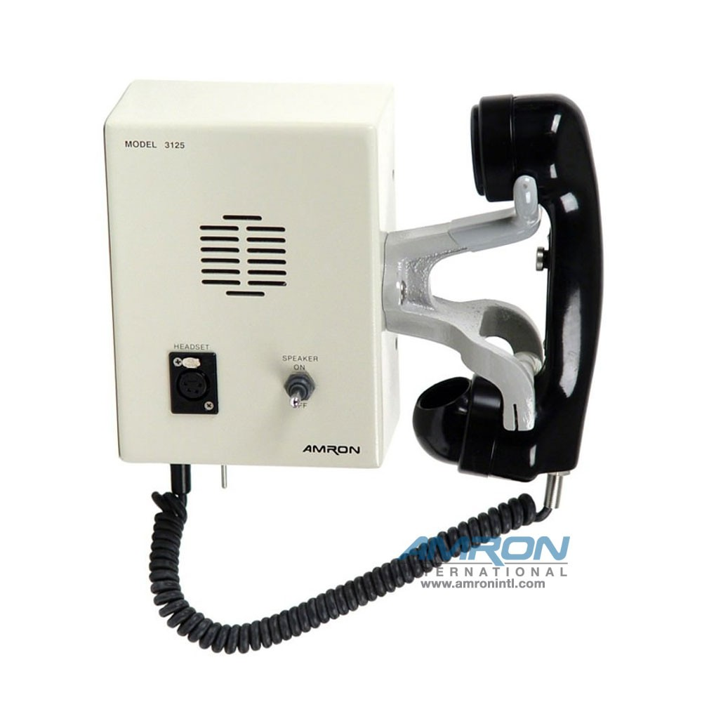 Amron International Inner-Lock Combo Box with Sound Powered Phone
