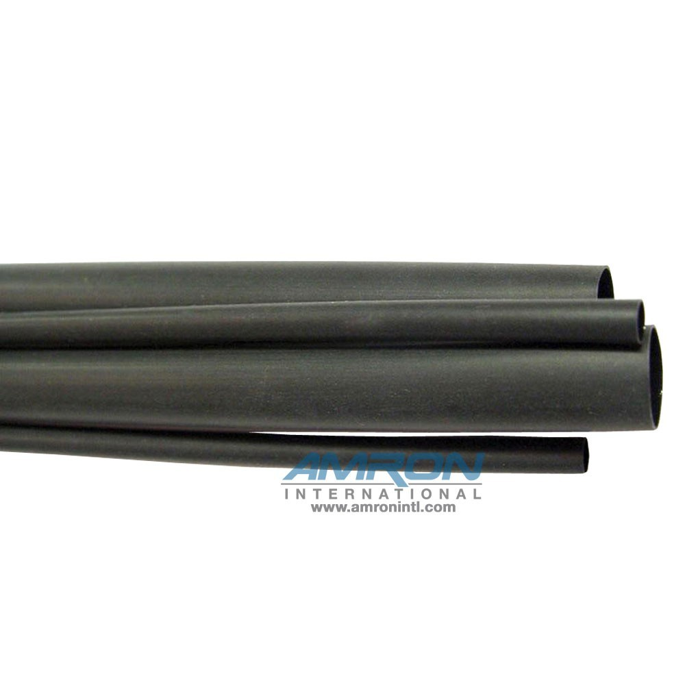 Amron International TAT Adhesive Heat Shrink Tubing 1/4 in 4 Foot Long TAT-125 1/4-0