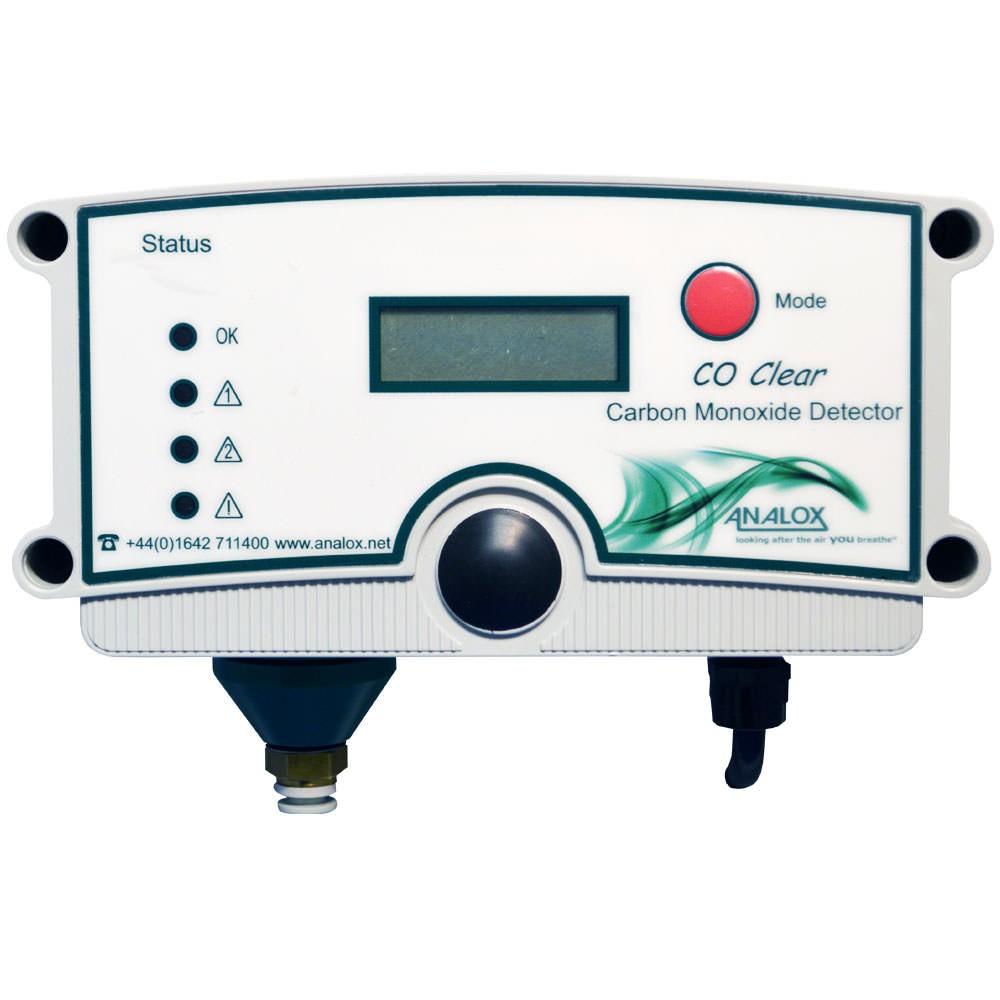 Analox CO Clear Carbon Monoxide Analyzer 110V AC US Power CO2535X56EXY16