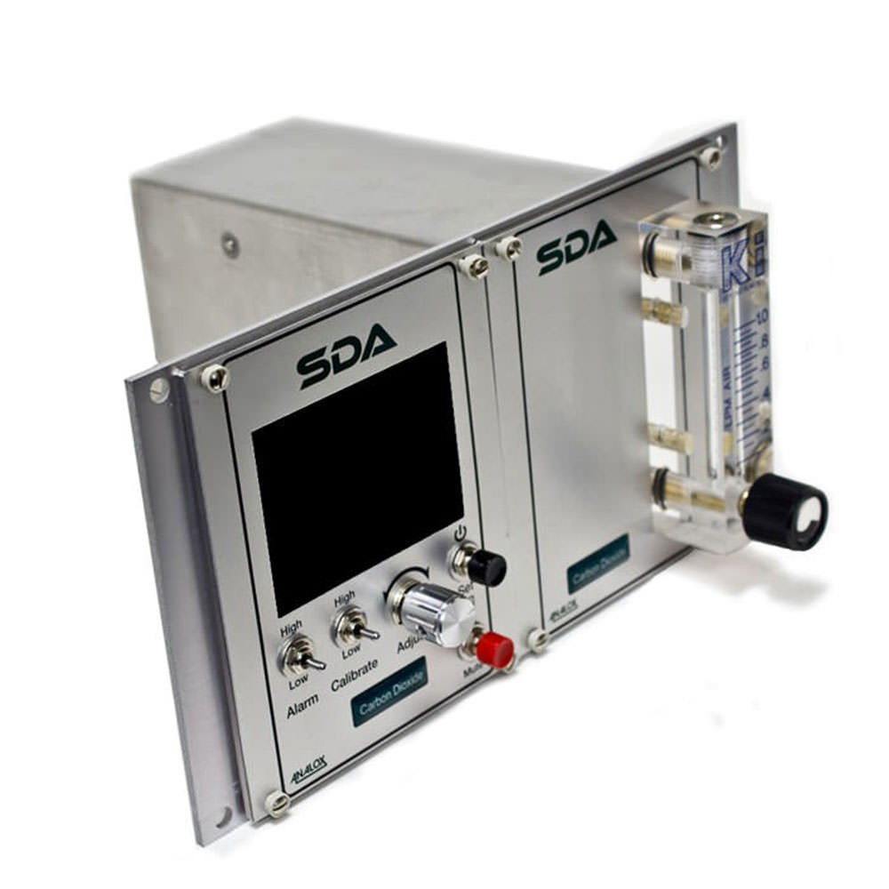 Analox SDARBBNXA SDA CO2 Monitor - Rack Mount - 5000 ppm in N2