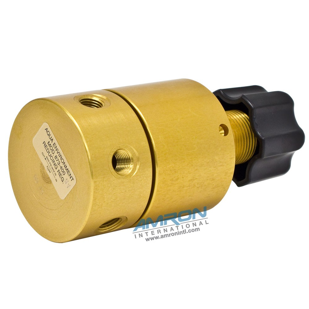 Aqua Environments Model 873 High Flow Reducing Non-Venting Regulator 873-400-NV