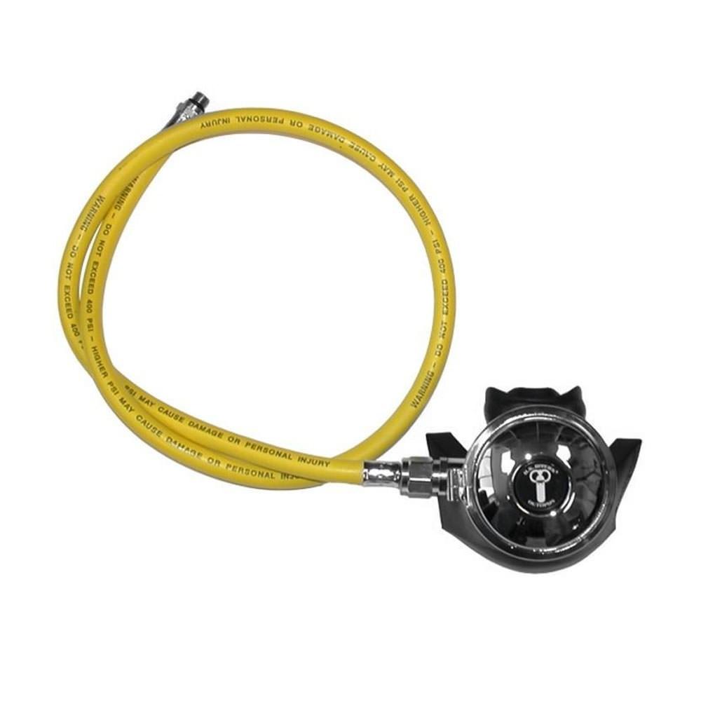 Aqua Lung Conshelf XIV Octopus Regulator with Yellow LP Hose 1085-20
