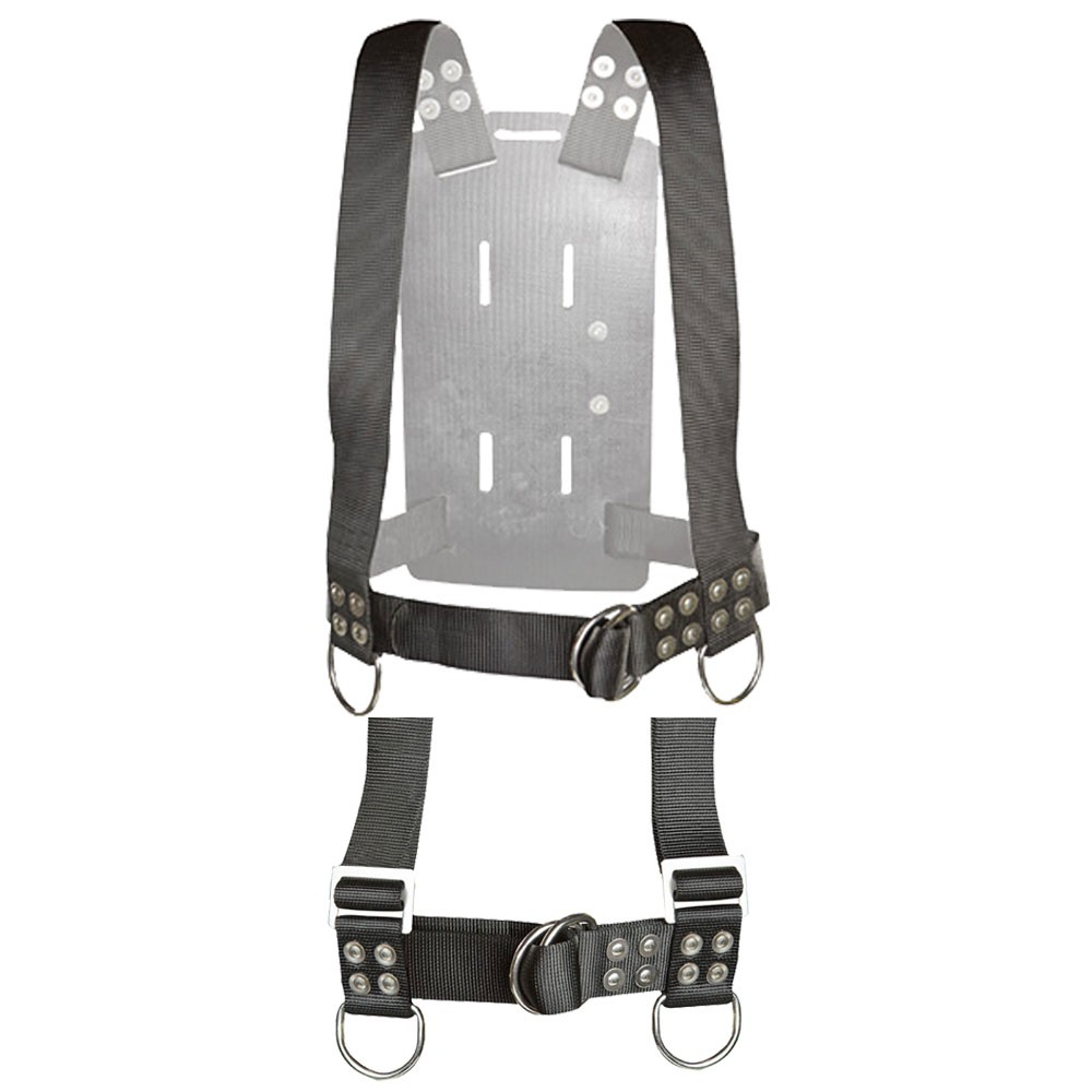 Atlantic Diving Equipment Backpack with Shoulder Adjusters X-Large BP-400-SA-XL - Front