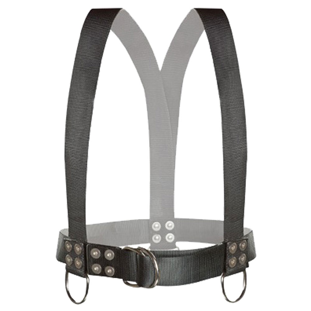 Atlantic Diving Equipment Diving Safety Harness w/ Shoulder Adjusters - Large SH-100-SA-L