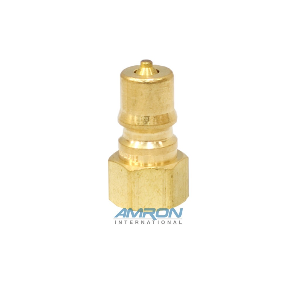 Hansen B2-K16 - Two Way Plug - 1/4 in. FNPT Plug in Brass