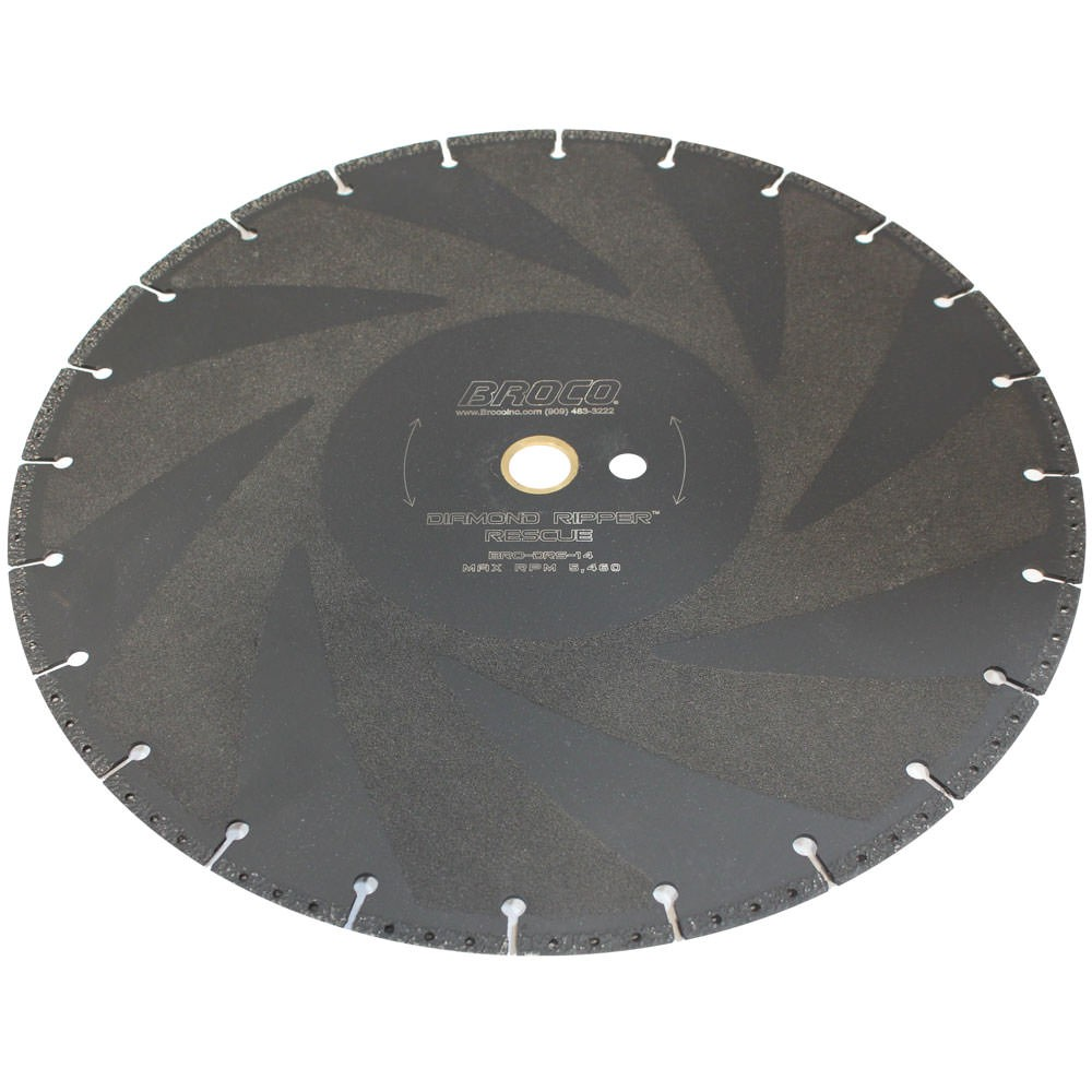 Broco DRS-14 Diamond Ripper Quickie 14 Inch Rescue Saw Blade BRO-DRS-14