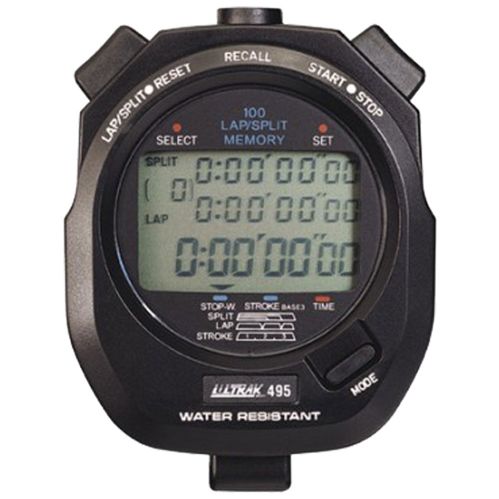 CEI Ultrak 495 - 100 Lap Memory Stopwatch