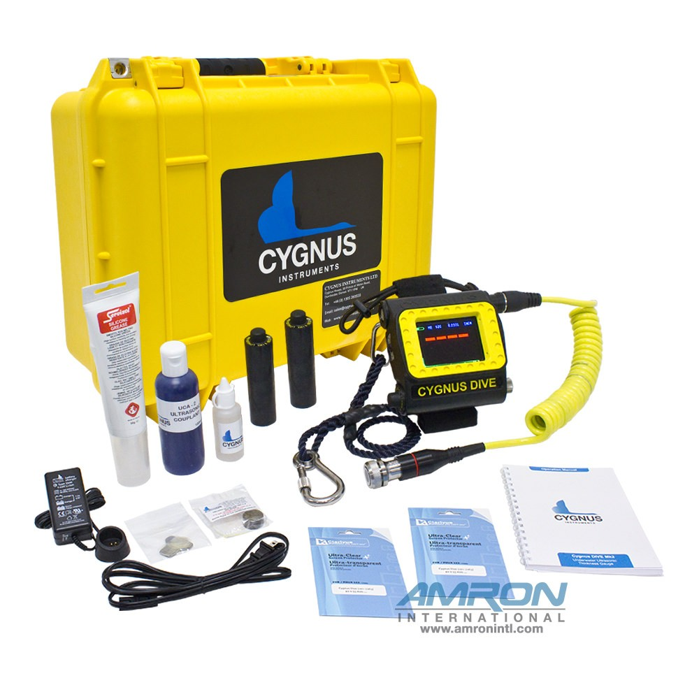 Cygnus DIVE Mk2 Wrist-Mountable Underwater Thickness Gauge w/ Remote Probe CYG-001-7210