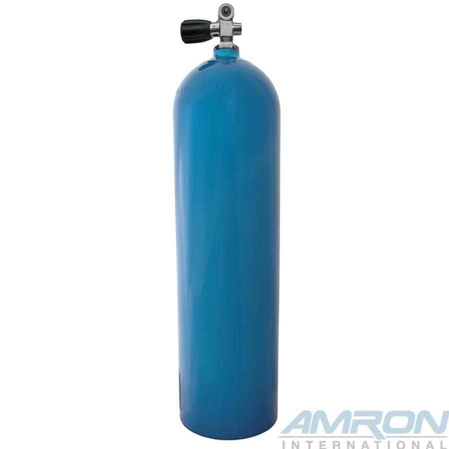 Worthington Aluminum Dive Tanks - Blue with K-Valve - 80 cu ft. A080-BLU