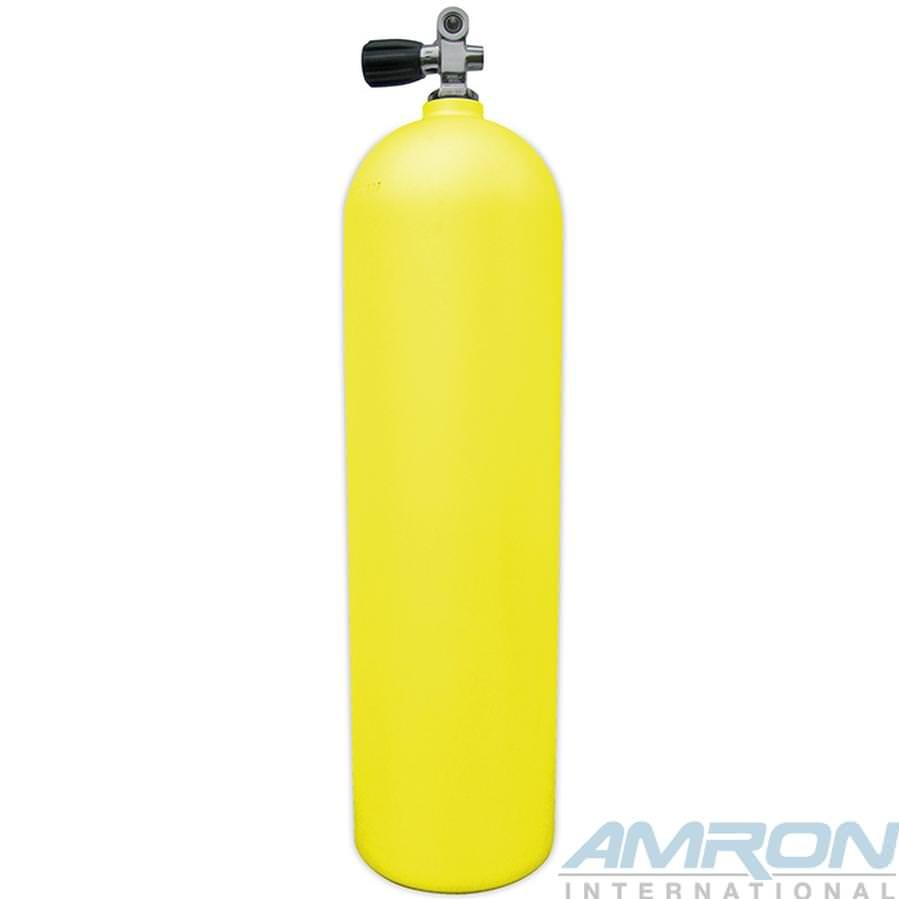 Worthington Aluminum Dive Tank Yellow with K-Valve A080-YEL