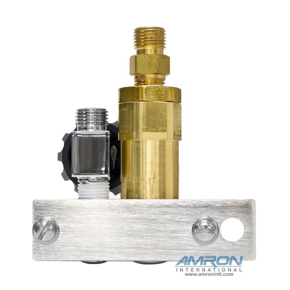 Kirby Morgan EXO® Manifold Block with Standard SCUBA Fitting 300-145