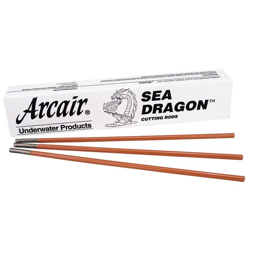 Arcair SEA-DRAGON® Cutting Electrodes 3/8 in. x 18 in. - 50 Rods 42-075-005