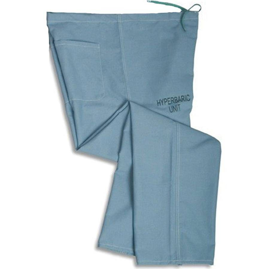 Medline Hyperbaric Scrub Pants - Misty Green - Size Large MDL-659MZSL-CM