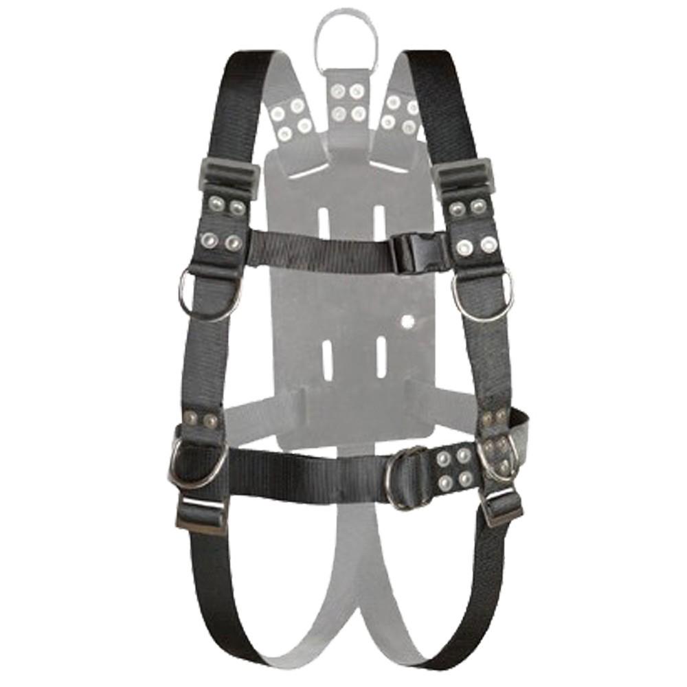 Atlantic Diving Equipment Full Body Harness with Shoulder Adjusters - Medium NSBB-16510