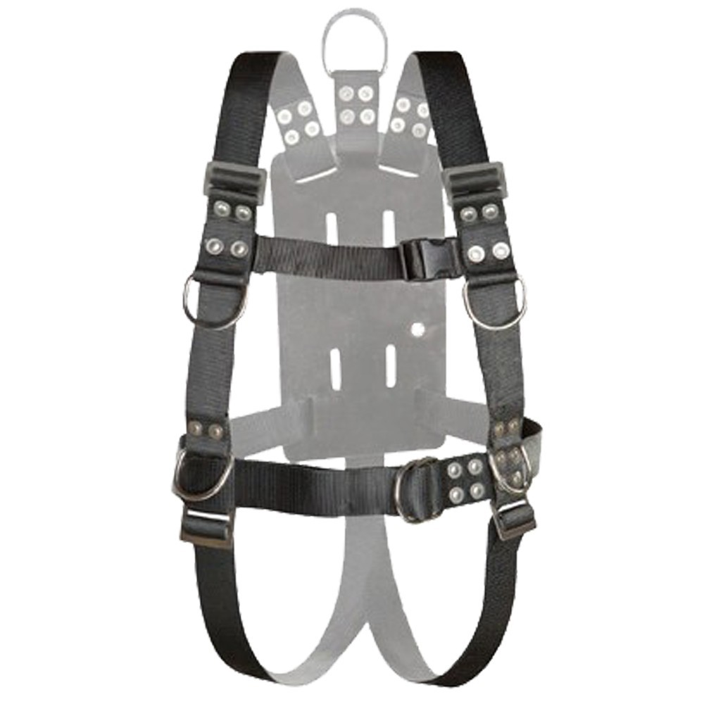 Atlantic Diving Equipment NSBB-16510 Full Body Harness with Shoulder Adjusters - Large