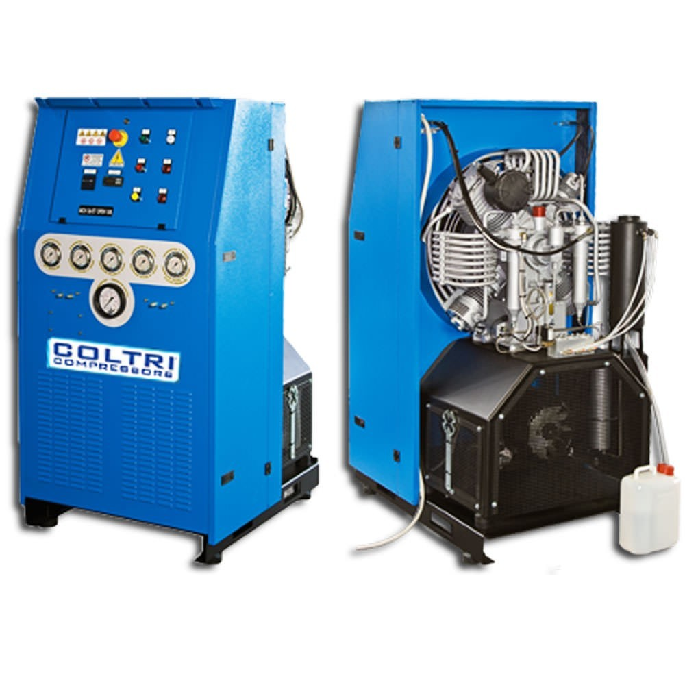 Nuvair 26 Open High Pressure Air Compressor - 20HP 400V 50HZ Open - 6000 PSI Maximum Pressure NUV-8044.6