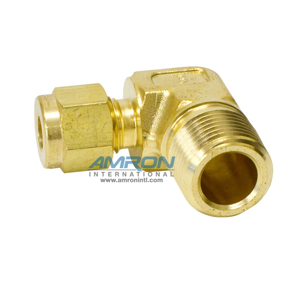 Parker CBZ-B-4-6 - Male Elbow - Brass - 1/4T X 6 NPT
