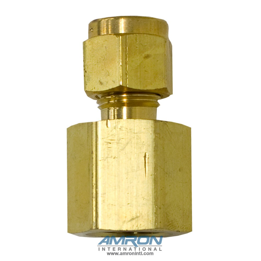 Parker GBZ-B-4-4 - Female Connector - 1/4 in. - Brass