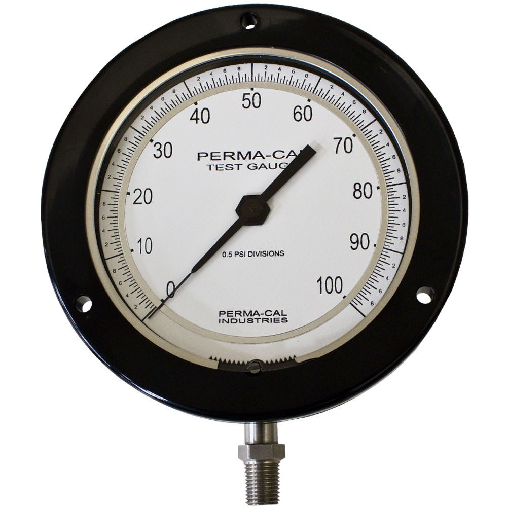 Perma-Cal 4.5 in. Precision Test Gauge with 0.25% Accuracy, 0-30 PSI PER-101FTM01A21