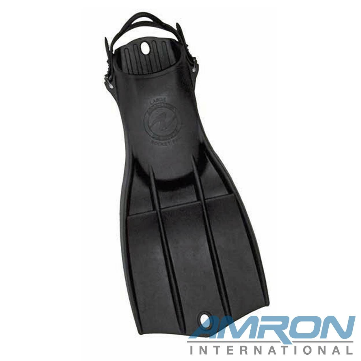 Aqua Lung Rocket Fins II with Metal Buckles Large (sizes 9-11) 6211-30