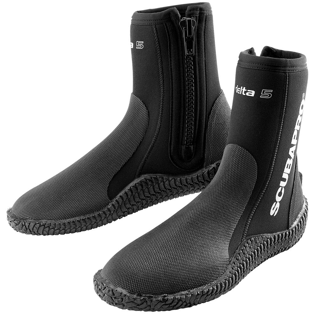 SCUBAPRO Delta Diving Boots 5MM Black - Extra Large Size 11 57.136.700