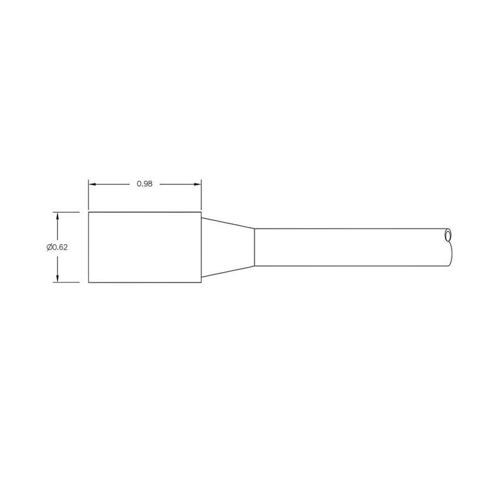 SEA CON In-Line Micro Wet-Con Connector 3 Socket Female MCIL3F Dimension Details