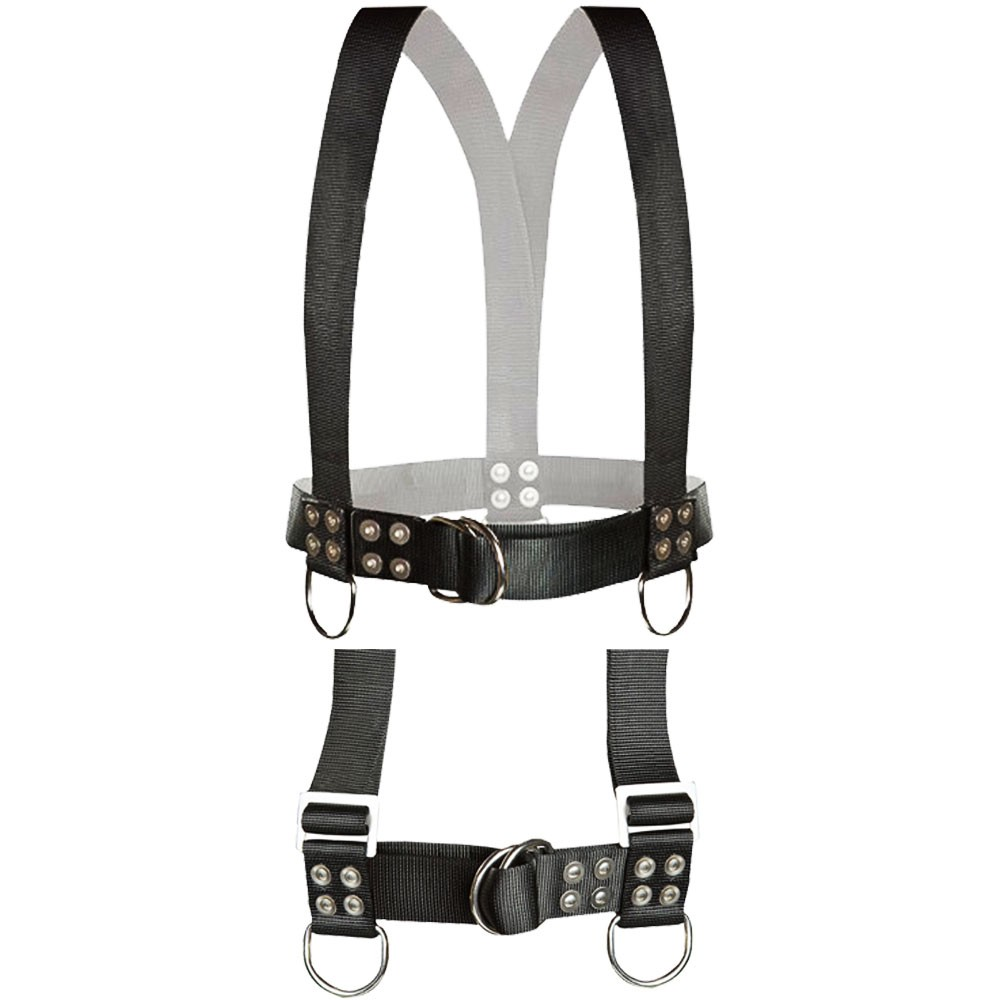 Atlantic Diving Equipment Diving Safety Harness w/ Shoulder Adjusters - X-Large SH-100-SA-XL