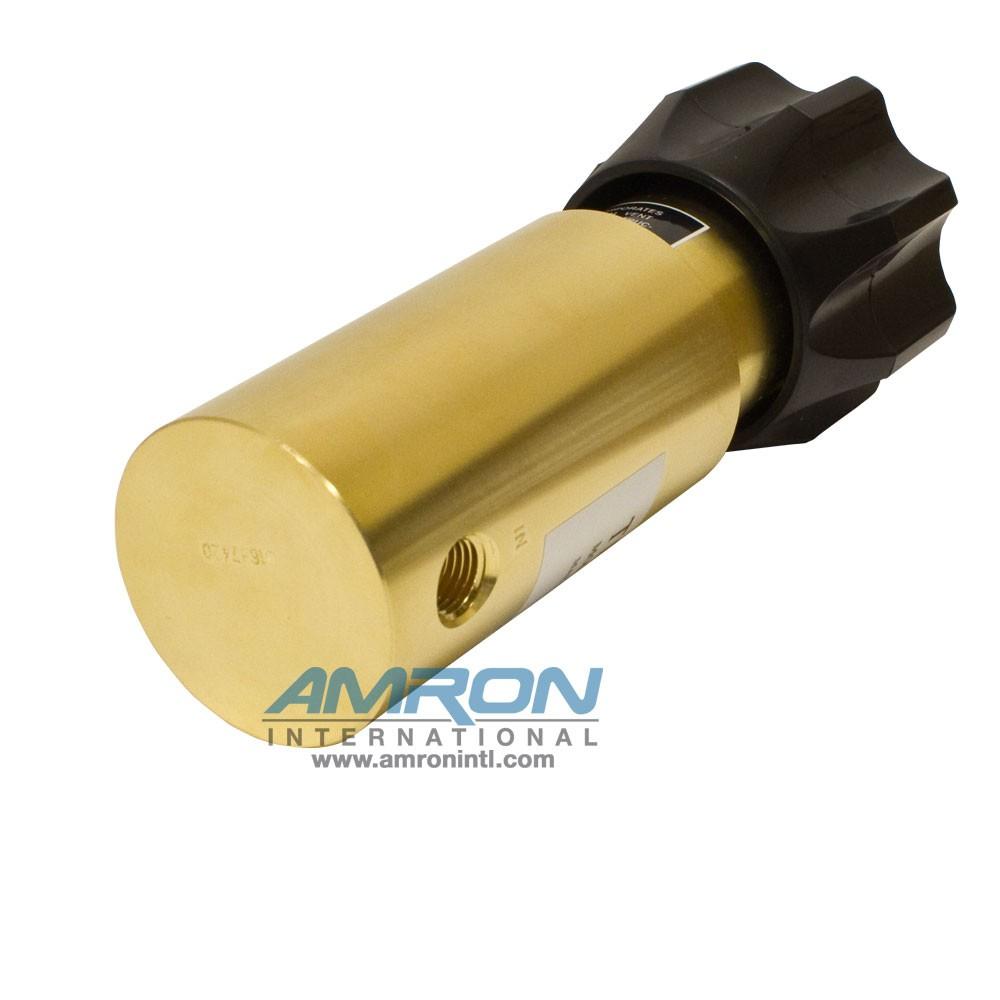 TESCOM Pressure Reducing Regulator Brass 25-4000 PSIG 44-1115-24