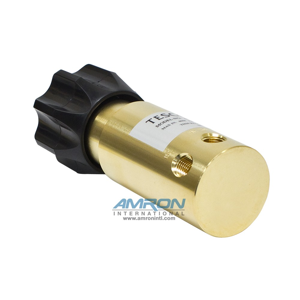 TESCOM Pressure Reducing Regulator Brass 0-800 PSIG 44-1112-24