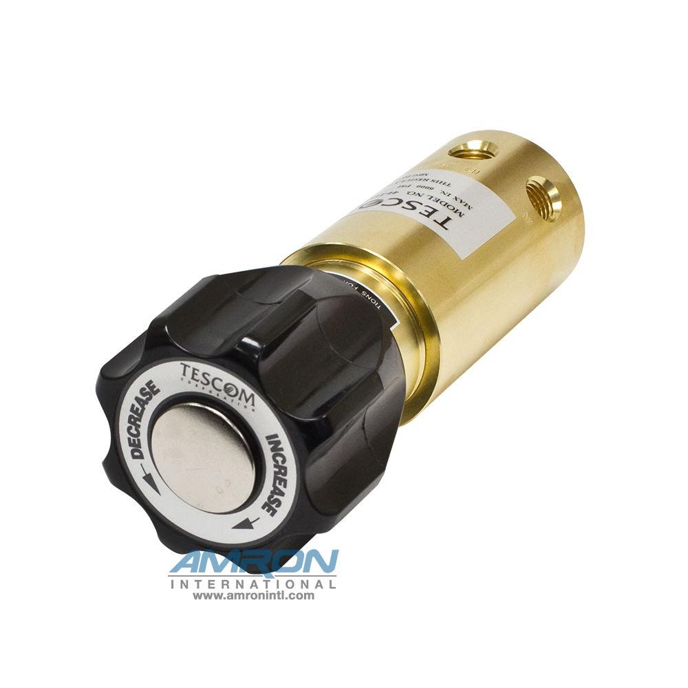 TESCOM Pressure Reducing Regulator Brass 10-1500 PSIG 44-1113-24