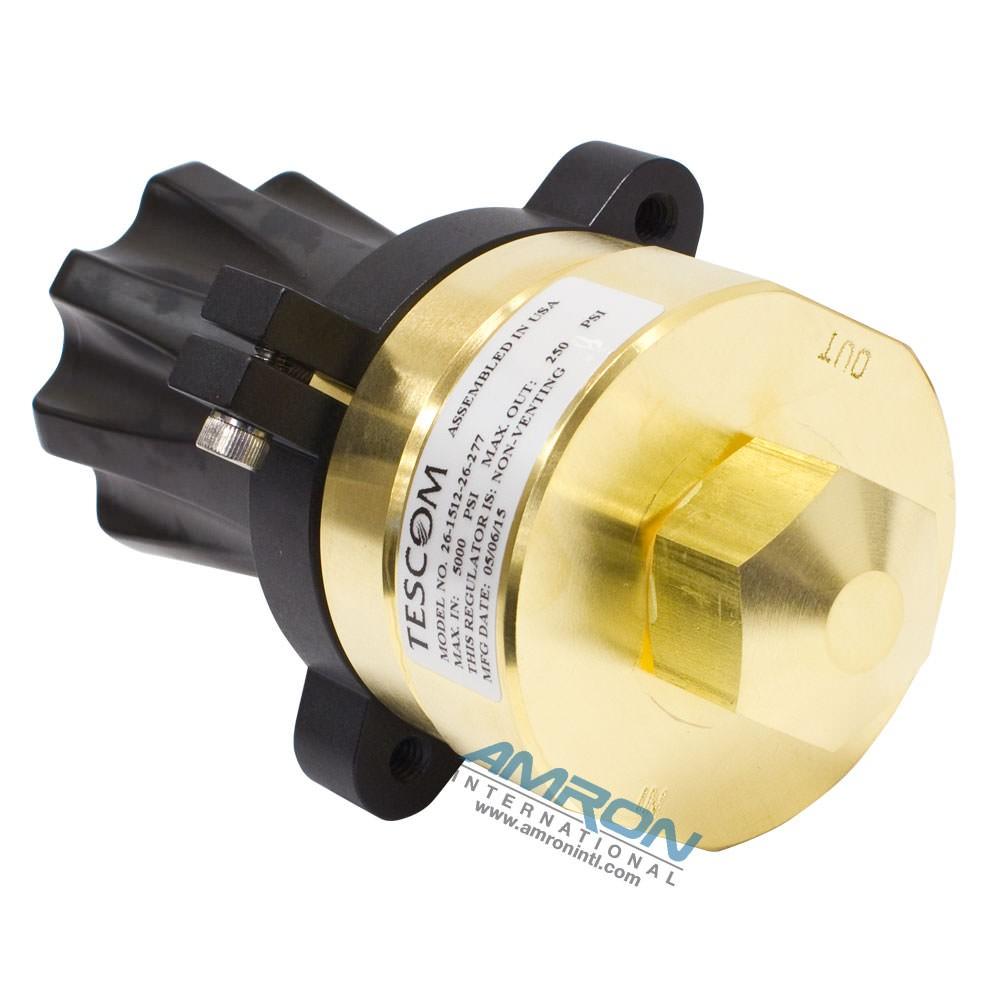 TESCOM Pressure Reducing Regulator Brass 0-250 PSIG 26-1512-26-277