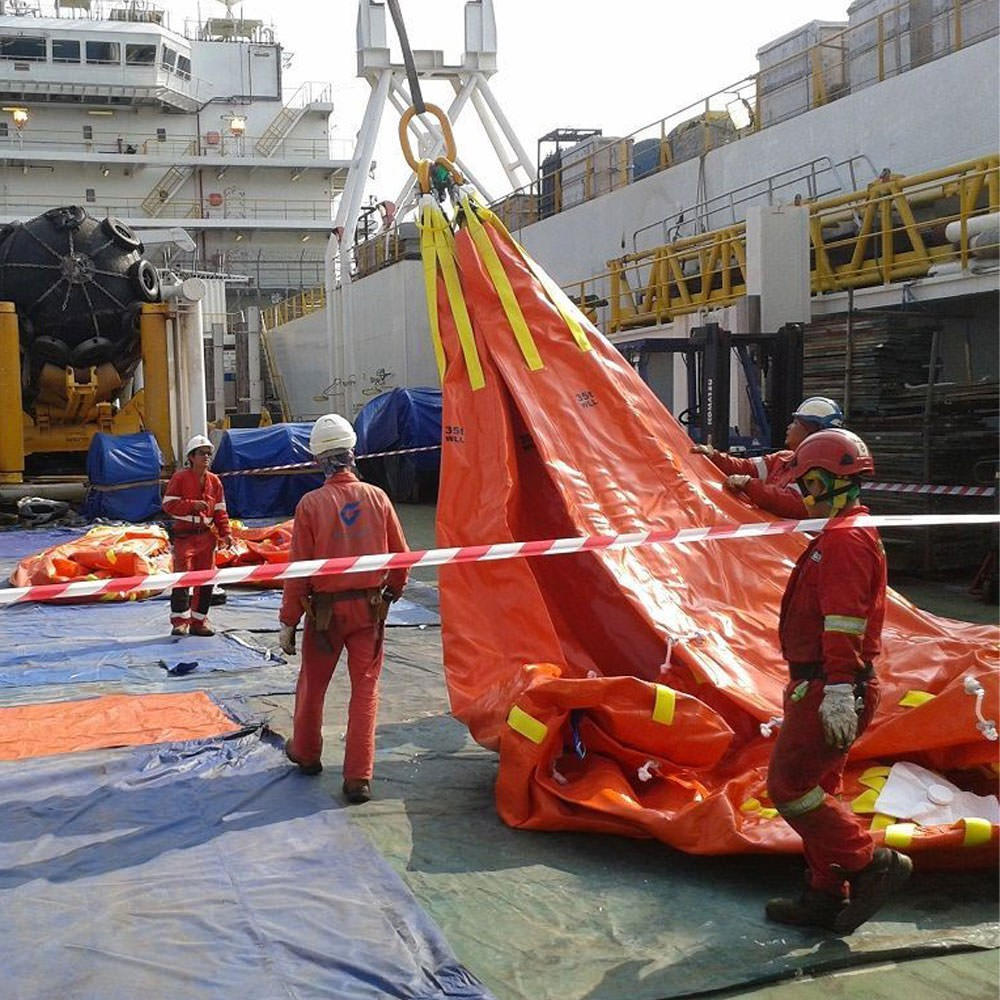 Waterload Bag Action Shot - Photo Courtesy of Unique Group