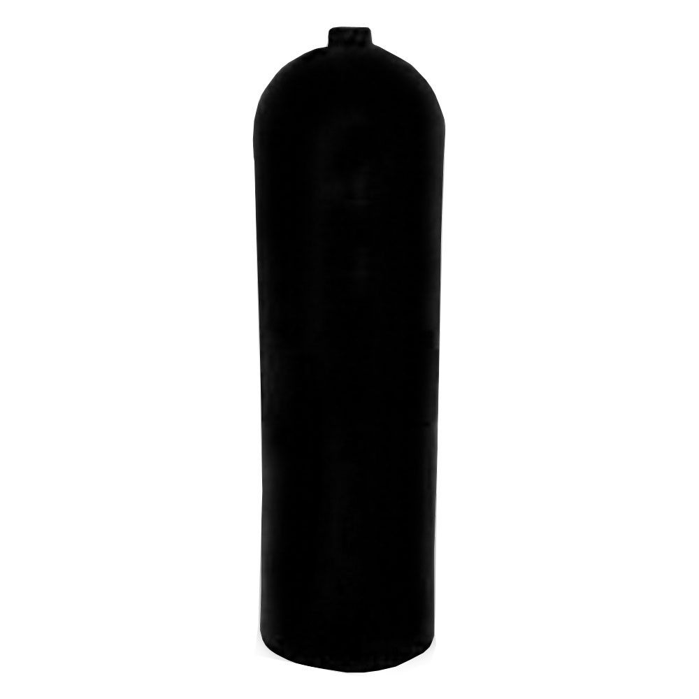 Worthington AL100 Aluminum SCUBA Cylinder with No Valve - Black AL100BK-NV